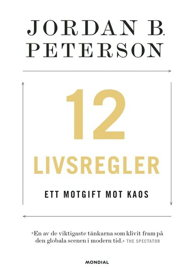 bokomslag 12 livsregler : ett motgift mot kaos