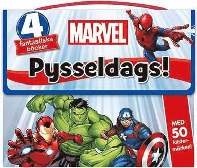 bokomslag Marvel: Pysseldags! 4 fantastiska böcker