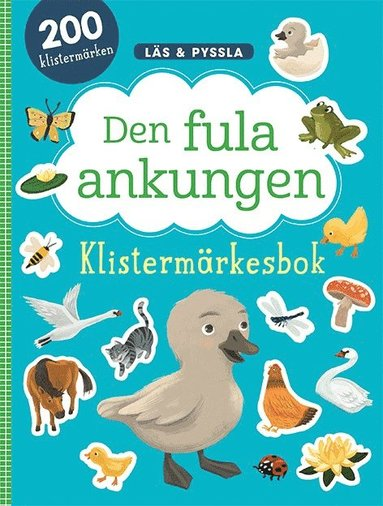 bokomslag Den fula ankungen - klistermärkesbok