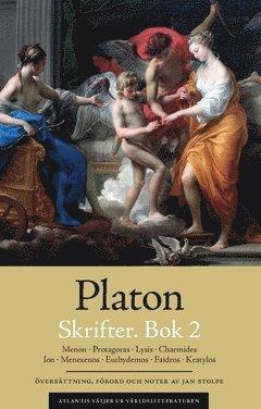 Skrifter. Bok 2, Menon ; Protagoras ; Lysis ; Charmides ; Ion ; Menexenos ; Euthydemos ; Faidros ; Kratylos 1