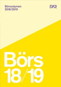 bokomslag Börsvolymen 2018/2019