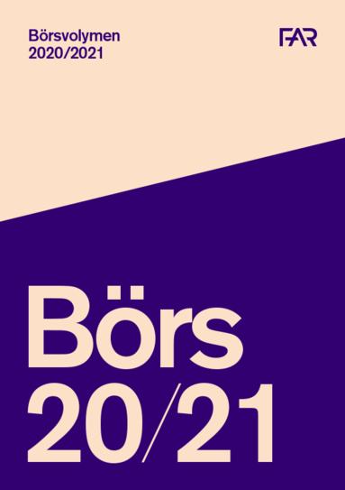 bokomslag Börsvolymen 2020/2021