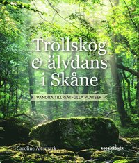 bokomslag Trollskog & älvdans i Skåne : Vandra till gåtfulla platser