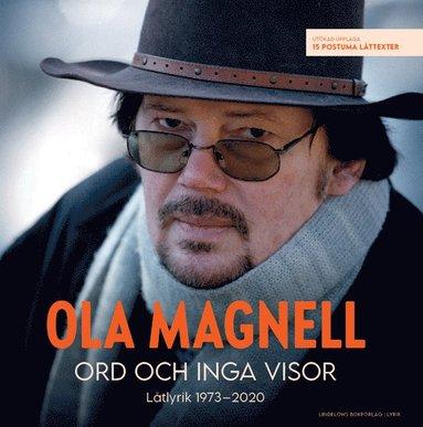 bokomslag Ord och inga visor: Låtlyrik 1973-2020