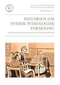 bokomslag Historien om svensk psykologisk forskning