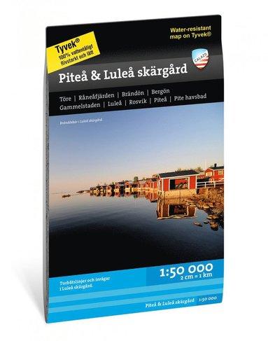 bokomslag Piteå & Luleå skärgård 1:50.000