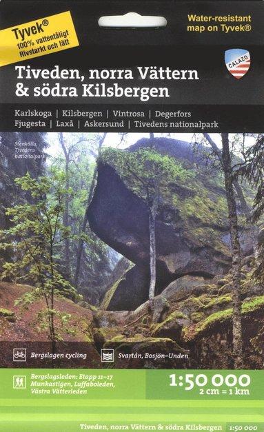 bokomslag Tiveden, norra Vättern & södra Kilsbergen