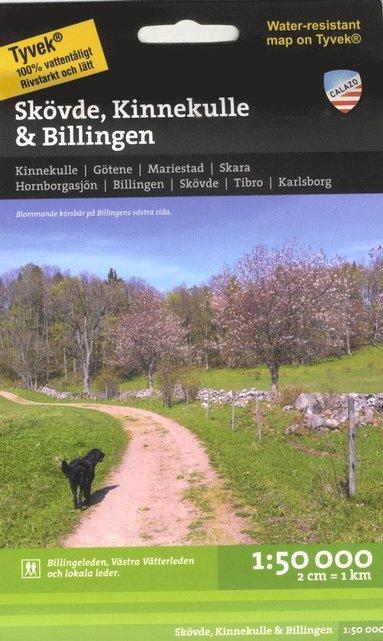 bokomslag Skövde, Billingen & Kinnekulle