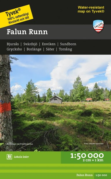 bokomslag Falun Runn 1:50.000