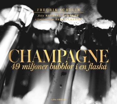 bokomslag Champagne : 49 miljoner bubblor i en flaska champagne