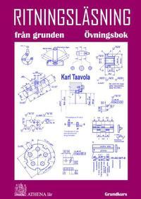 bokomslag Ritningsläsning från grunden. Övningsbok