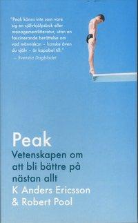 bokomslag Peak : Vetenskapen om att bli bättre på nästan allt