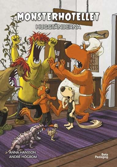 bokomslag Monsterhotellet - Huggtänderna