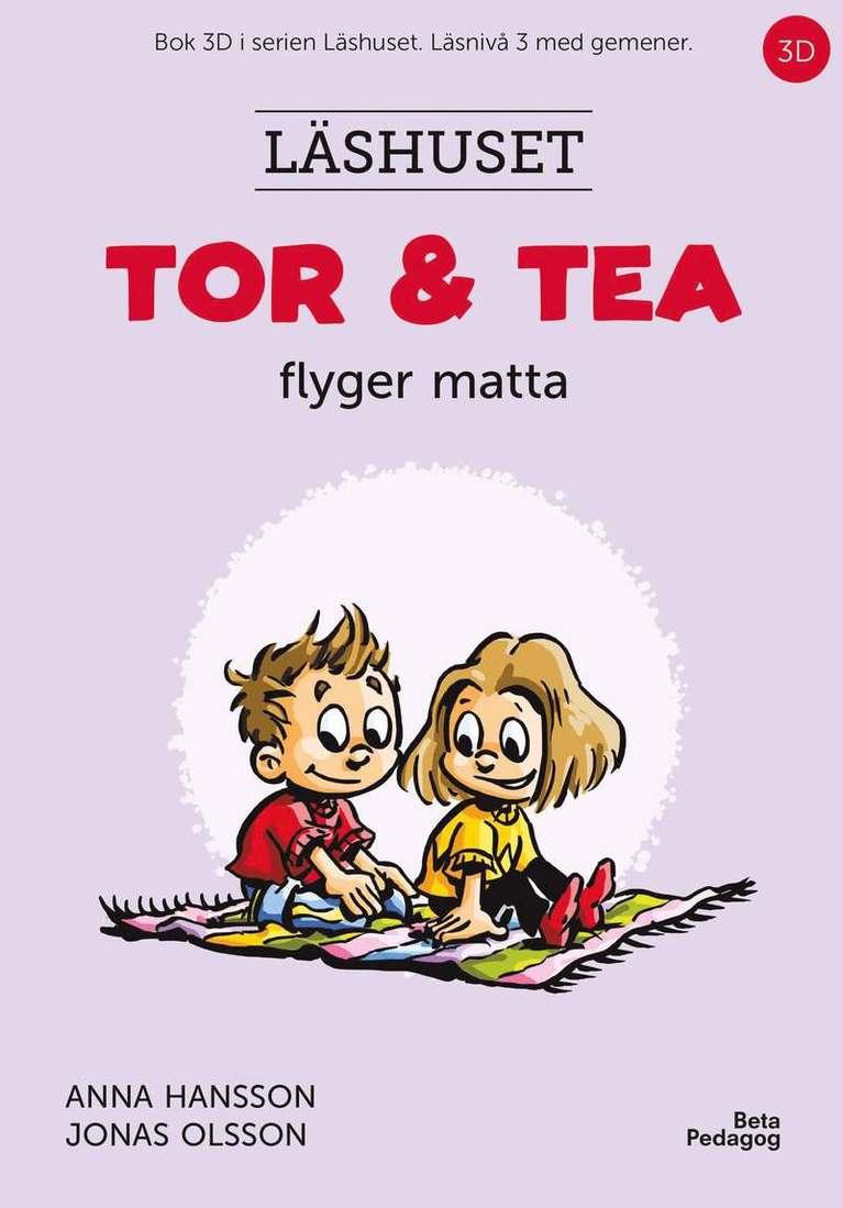 Tor och Tea flyger matta 1