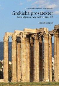 bokomslag Grekiska prosatexter