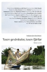 bokomslag Indonesien berättar: Tusen gevärskulor, tusen fjärilar : nitton noveller