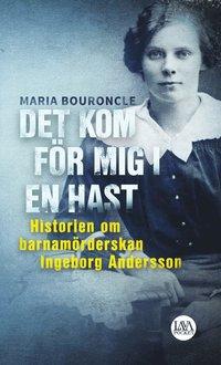 bokomslag Det kom för mig i en hast : historien om barnamörderskan Ingeborg Andersson