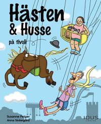 bokomslag Hästen & Husse på tivoli