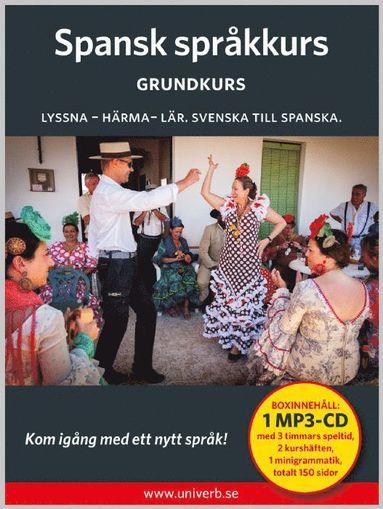 bokomslag Spansk språkkurs: Grundkurs