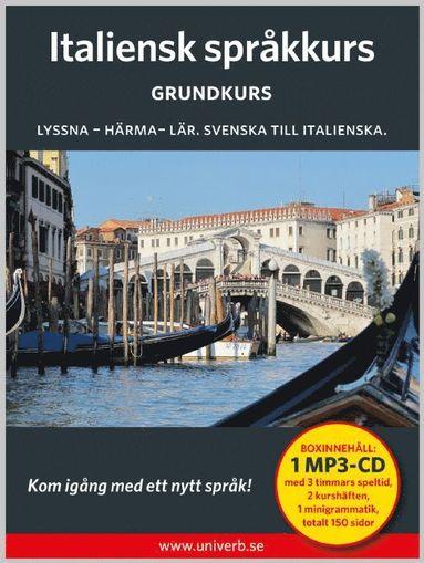 bokomslag Italiensk språkkurs. Grundkurs