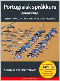 bokomslag Portugisisk språkkurs. Grundkurs