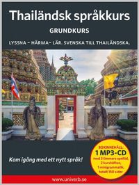 bokomslag Thailändsk språkkurs. Grundkurs