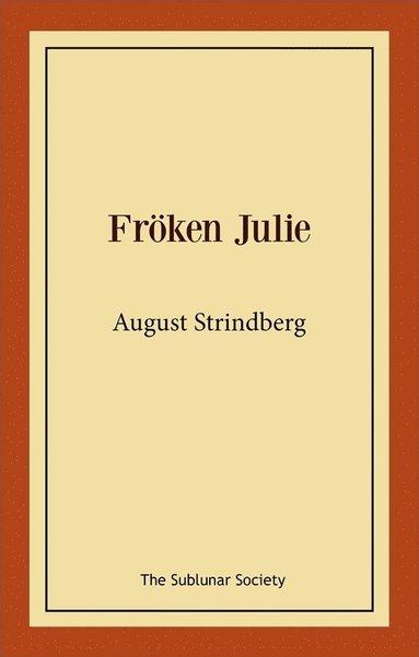 bokomslag Fröken Julie