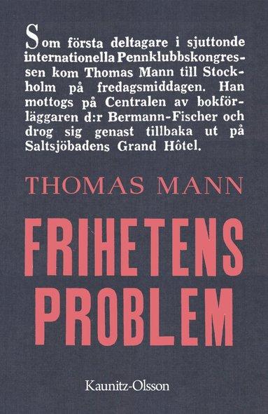 bokomslag Frihetens problem