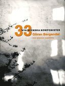 bokomslag 33 nya svenska komponister