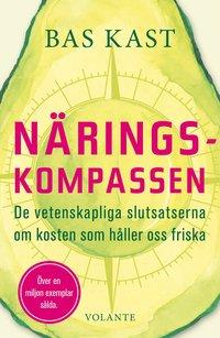 bokomslag Näringskompassen : de vetenskapliga slutsatserna om kosten som håller oss friska