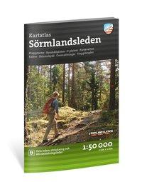 bokomslag Friluftsatlas Sörmlandsleden 1:50 000