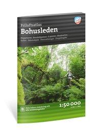 bokomslag Friluftsatlas Bohusleden 1:50 000