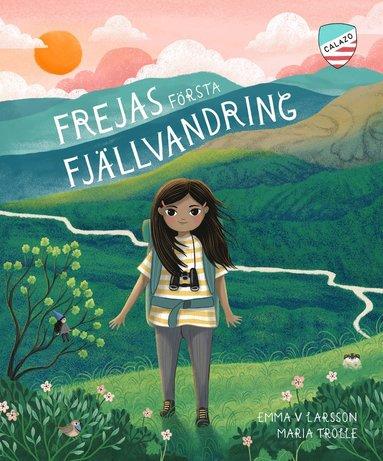 bokomslag Frejas första fjällvandring