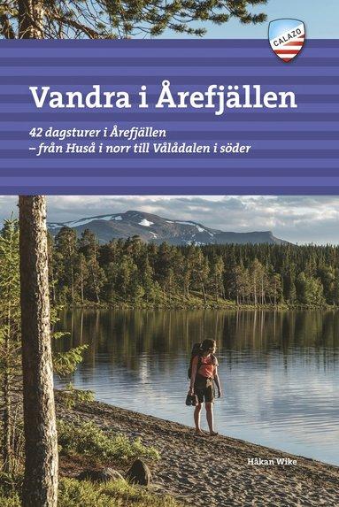 bokomslag Vandra i Årefjällen
