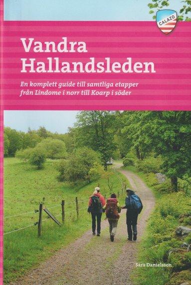 bokomslag Vandra Hallandsleden