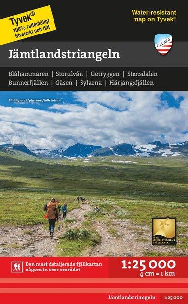bokomslag Jämtlandstriangeln 1:25.000
