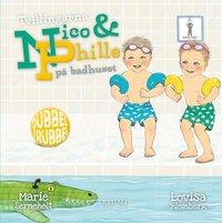 bokomslag Tvillingarna Nico och Phille på badhuset