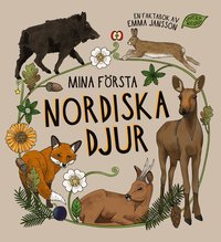 bokomslag Mina första nordiska djur
