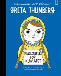 bokomslag Små människor, stora drömmar. Greta Thunberg