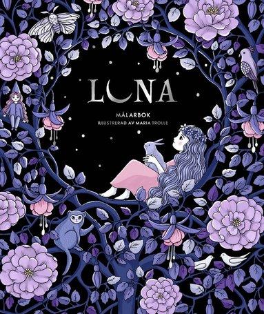 bokomslag Luna : målarbok