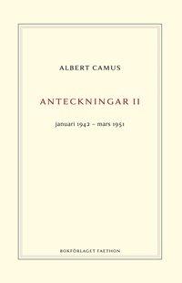 bokomslag Anteckningar 2 : januari 1942–mars 1951