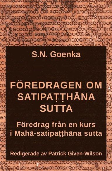 bokomslag Föredragen om Satipatthana sutta