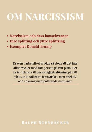 bokomslag Om narcissism