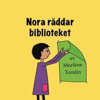 bokomslag Nora räddar biblioteket