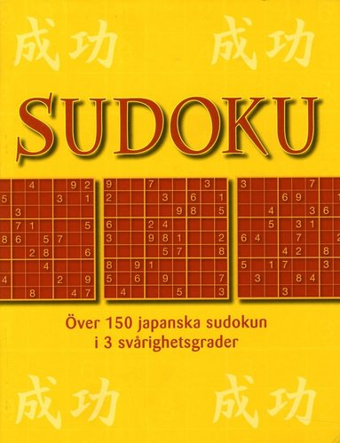 bokomslag Sudoku