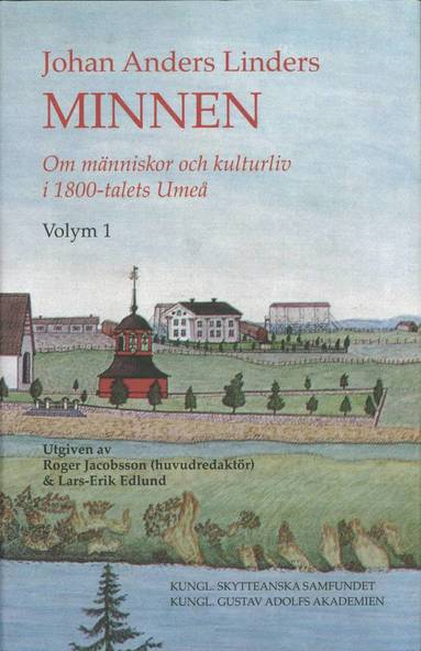 bokomslag Johan Anders Linders Minnen