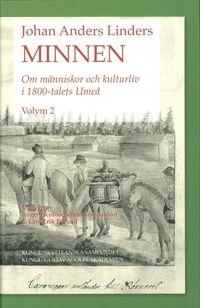 bokomslag Johan Anders Linders Minnen Volym 2