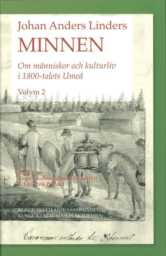 Johan Anders Linders Minnen Volym 2 1