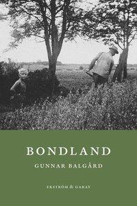 bokomslag Bondland
