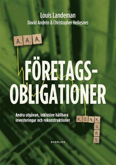 bokomslag Företagsobligationer : andra upplagan, inklusive hållbara investeringar och rekonstruktioner